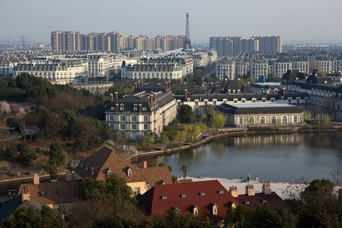 Город Тиандученге выглядит абсолютно по-европейски
