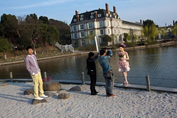 Город Тиандученг чаще всего посещают туристы и молодожены
