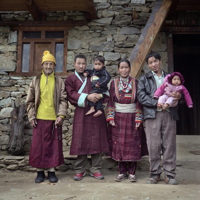 Тибетская семья
