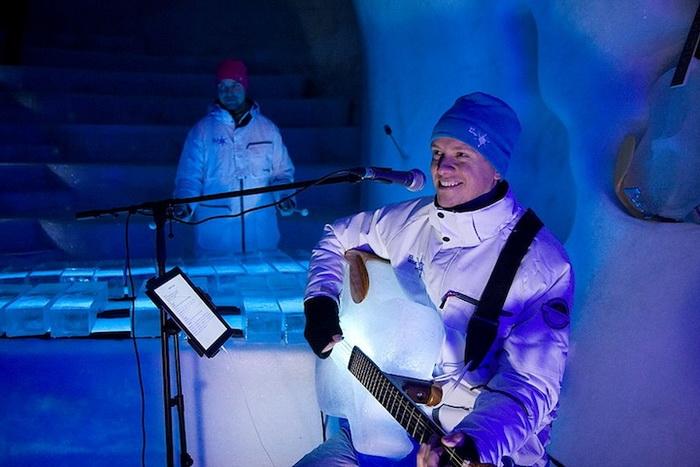 Ice Music: музыкальные инструменты изо льда