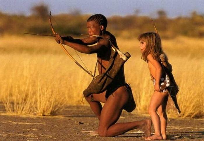Туземцы научили Типпи Дегре множеству правил выживания в дикой природе