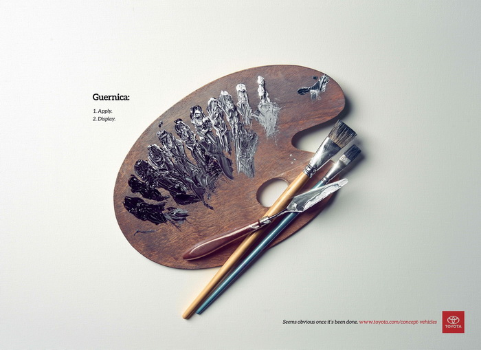 Креативная реклама компании Toyota