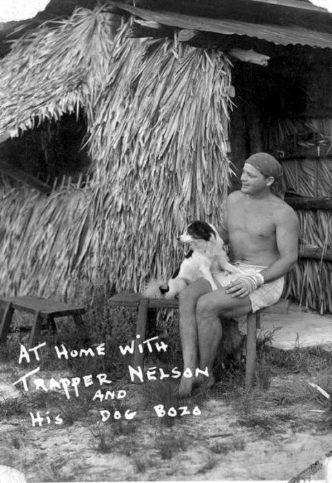 Траппер Нельсон - современный Тарзан.