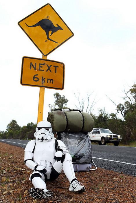 Путь из Перта в Сидней занял у Джейкоба Френча 9 месяцев