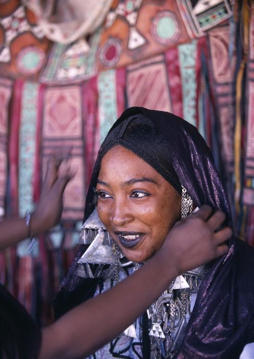 Женщины народа туареги