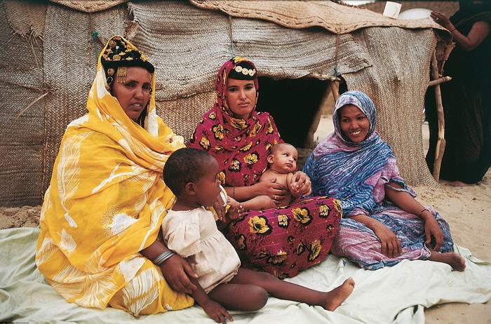 Матриархат в африканском племени туареги