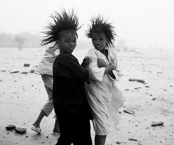 Фото 1967 года. Дети туарегов после развода остаются жить с матерью