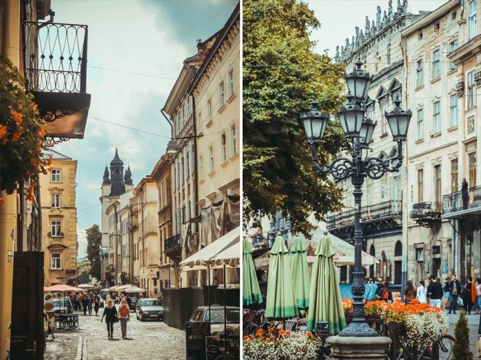 Львов - одно из лучших туристических мест в Украине.
