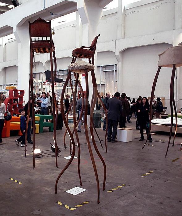 Мебель от Umberto Dattola была представлена на Неделе дизайна в Милане