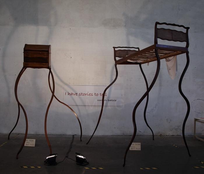 Сюрреалистическая мебель от итальянского дизайнера Umberto Dattola