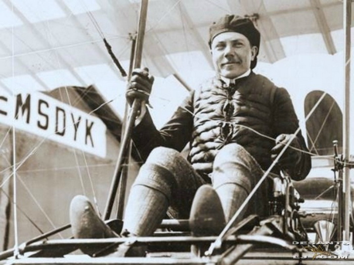 Сергей Уточкин - летчик-энтузиаст