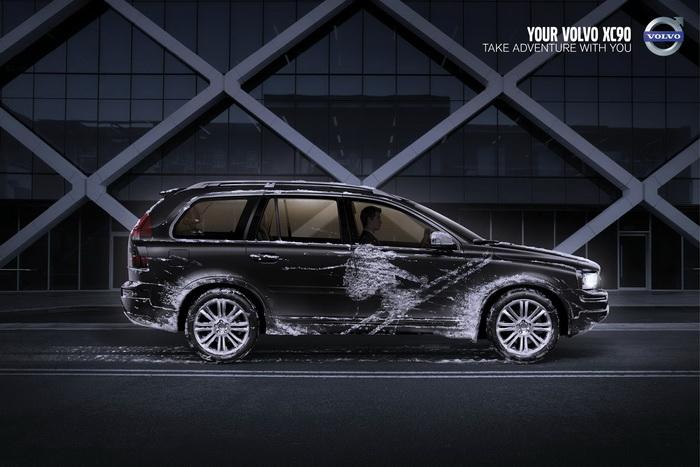 Креативная реклама Volvo XC 90