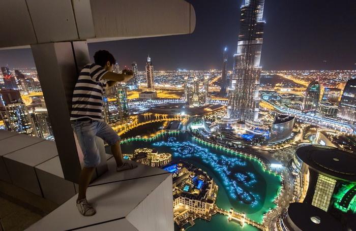 Головокружительные фотографии Дубая Вадима Махорова