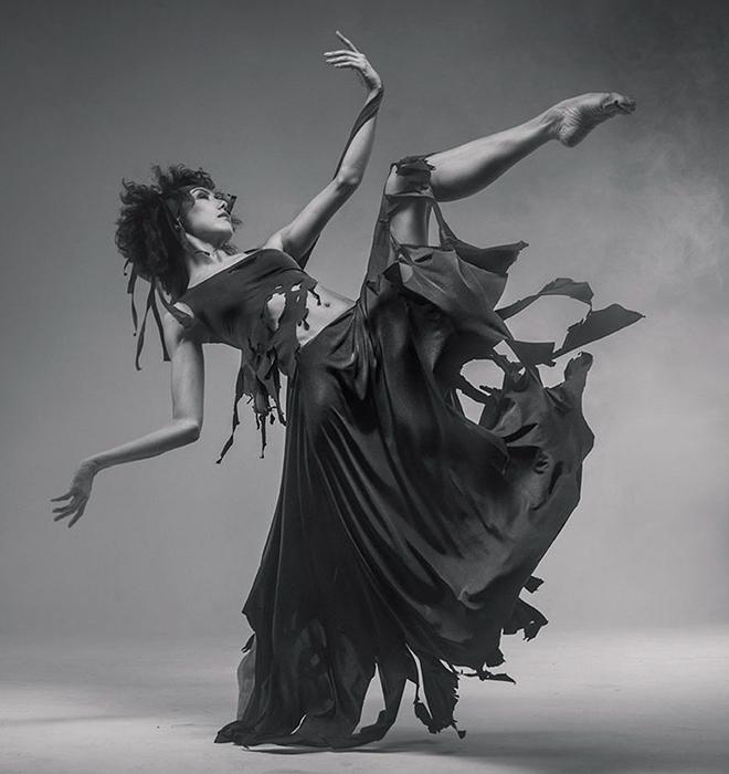 Фотографии танцоров. Автор Вадим Штейн.