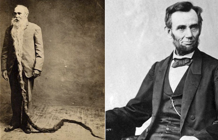 Валентин Тэпли и Авраам Линкольн.