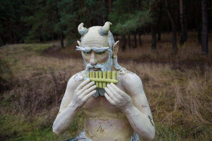 Скульптура Валерия Ермакова.