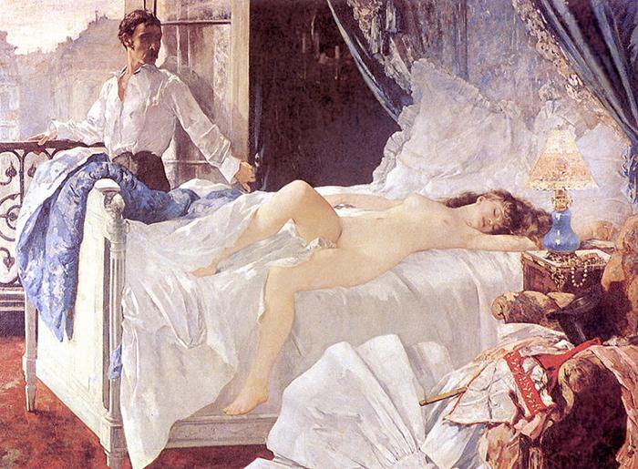 Ролла. Картина Генри Гервекса.
