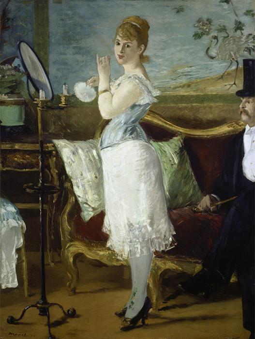 Нана. Картина Эдуарда Мане.