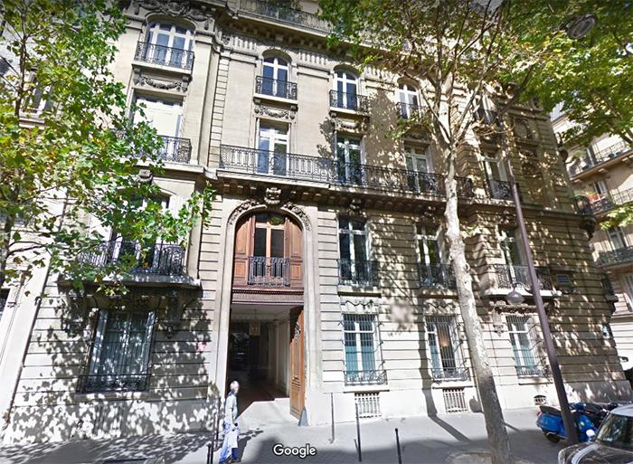 Особняк, построенный любовником для Вальтесс де Ла Бинь.
