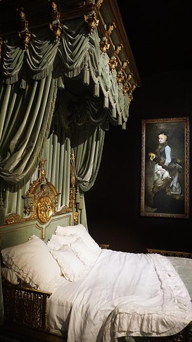 Легендарная кровать Вальтесс де Ла Бинь.