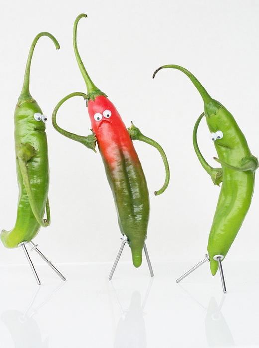 Игра с едой: серия забавных фотографий от Ванессы Дуалиб