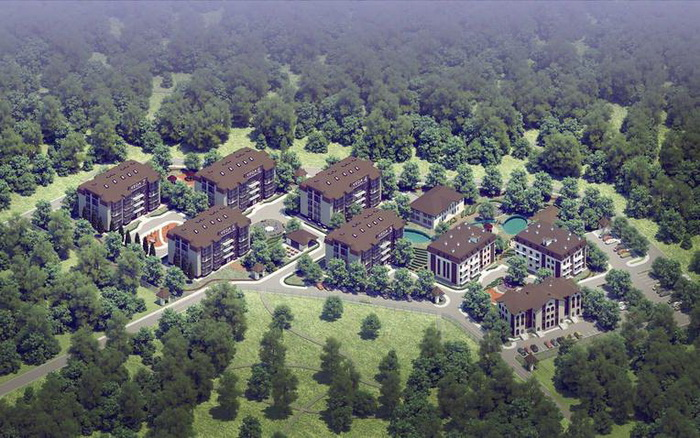 Проект ЖК Veda Village.