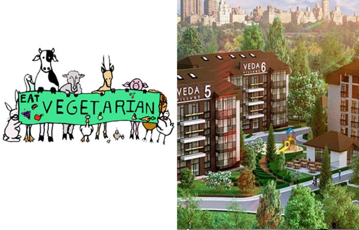 Veda Village - жилой комплекс для вегетарианцев в Санкт-Петербурге.