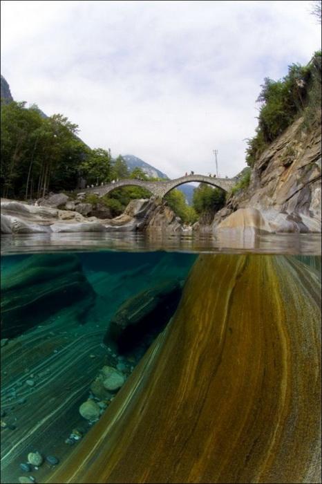 Река Верзаска на фотографиях Клаудио Газзароли