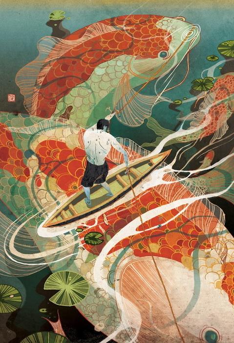 Затейливые иллюстрации от Victo Ngai