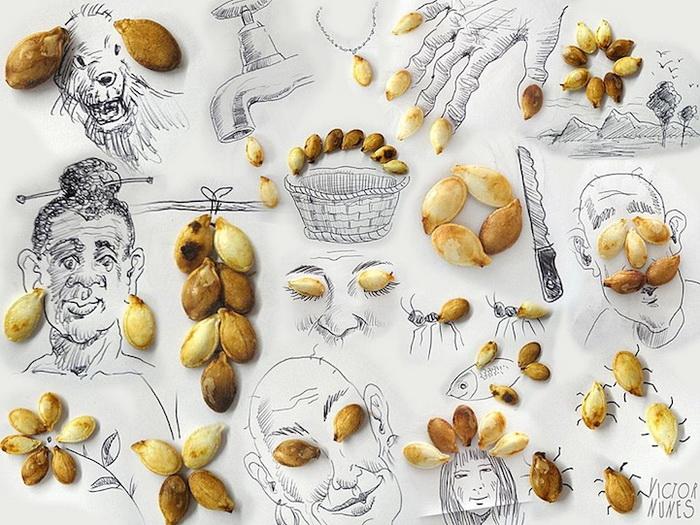 Забавные иллюстрации от Виктора Нунеса (Victor Nunes)