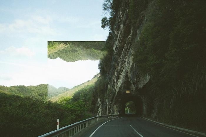 Геометрические фотоманипуляции от Виктории Симер (Victoria Siemer)