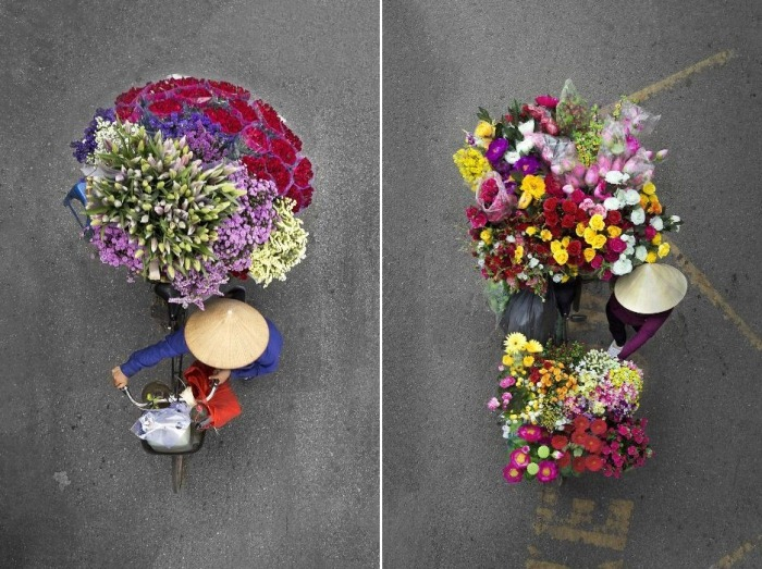 Вьетнамские продавцы едут на рынок: восхитительный фотоцикл о красоте будничной работы