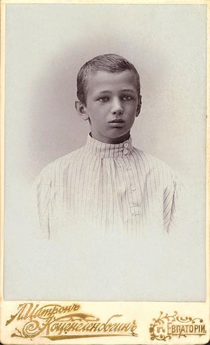 Виктор Горенко в юности. Снимок сделан в Евпатории. Фото: Tsarselo.ru