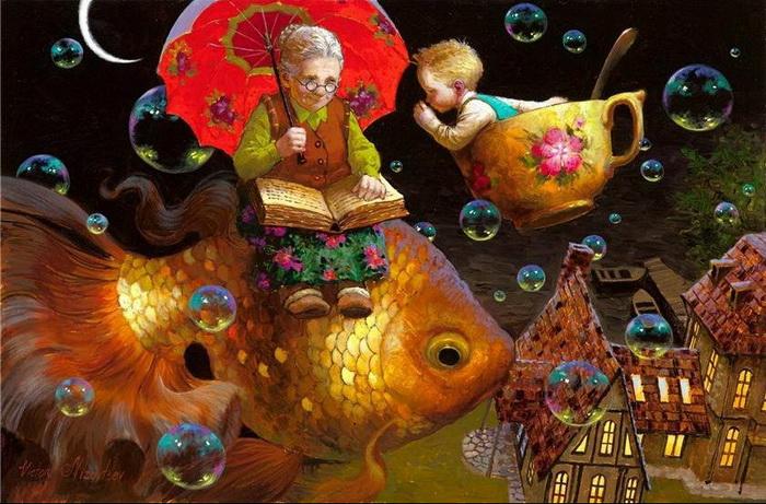 Волшебные рисунки для детей от Виктора Низовцева