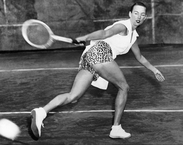 Теннисистка Гертруда Моран.