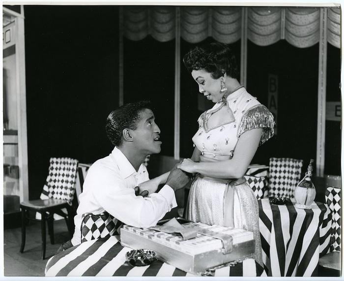 Сцена из мюзикла на Бродвее, 1956 год