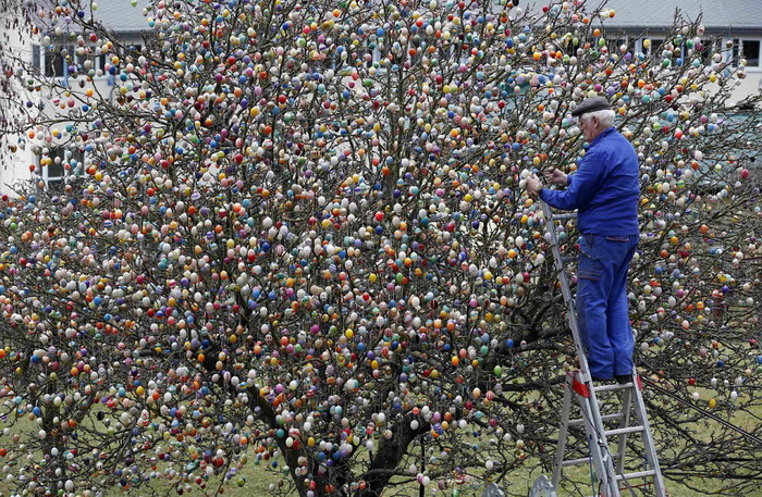 Пасхальное дерево Фолькера Крафта (Volker Kraft)