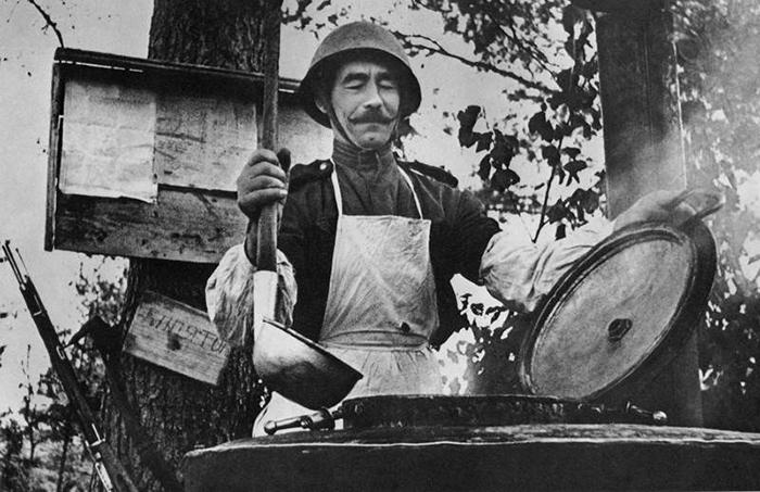 Вильям Похлебкин готовил еду для солдат на фронте. Фото: topwar.ru.