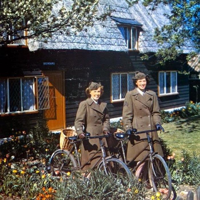 Служащие Женского военного корпуса Англии