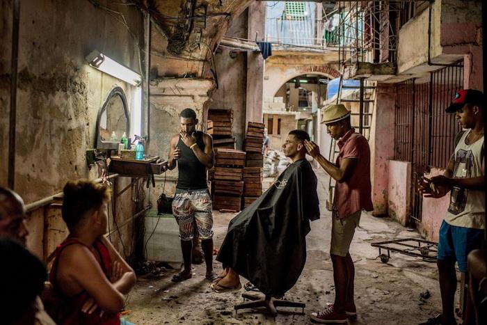 Парикмахерская в Гаване