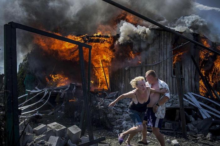 Трагические события в Луганске