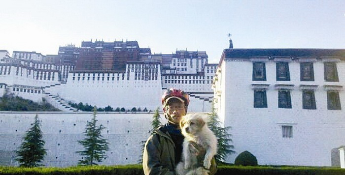 За путешествием велосипедистов в Тибет следили тысячи людей в Интернете
