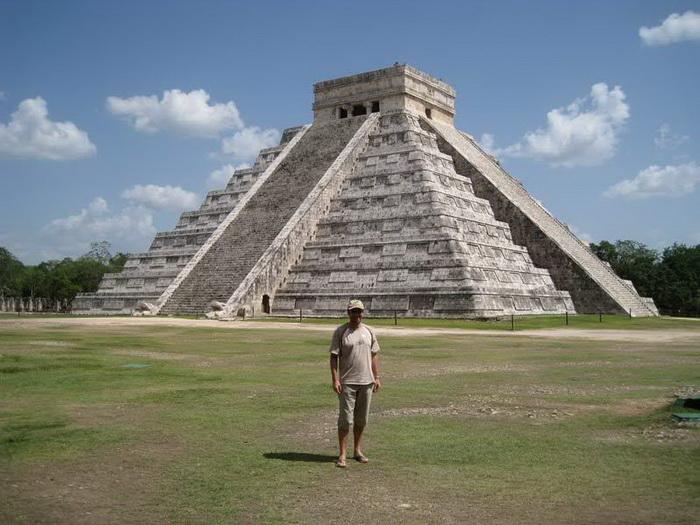 Чичен-Ица, древний город племени майя, Мексика