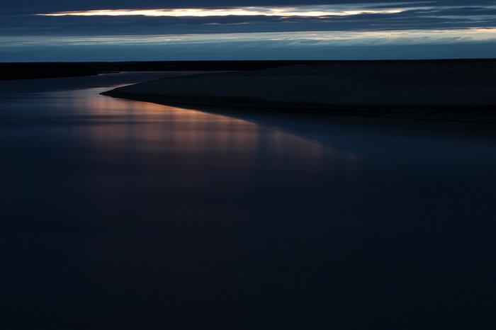 Река Юрибей в середине лета