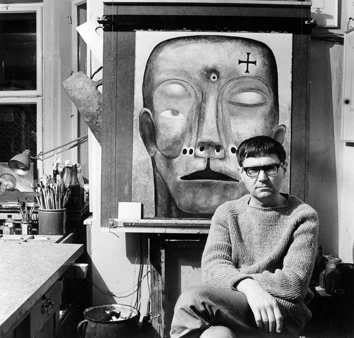 Здзислав Бексиньский (Zdzislaw Beksinski) - выдающийся польский художник