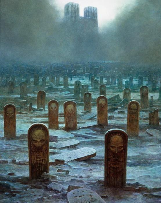 Эстетика смерти в работах Здзислава Бексиньского