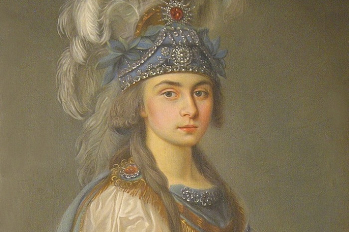 Прасковья Жемчугова - актриса частного театра графа Шереметева