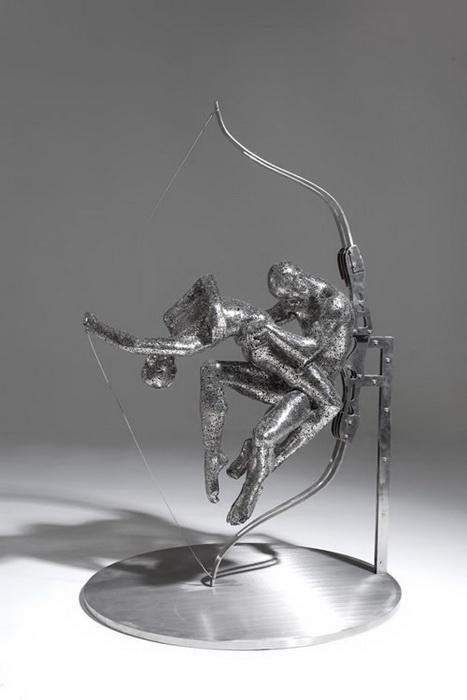 Скульптуры из иероглифов: творчество Чжэн Лу (Zheng Lu)
