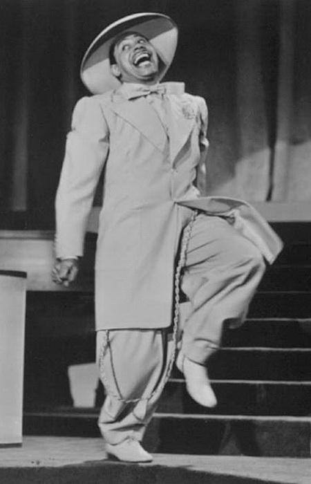 Музыкант Cab Calloway в зут-костюме