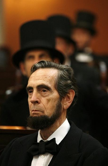 Съезд двойников Авраама Линкольна в штате Огайо